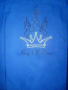 SPANISH HARLEM MADE IN USA CHROME FLAME BUTTON KING of KINGS BOWLING SHIRT