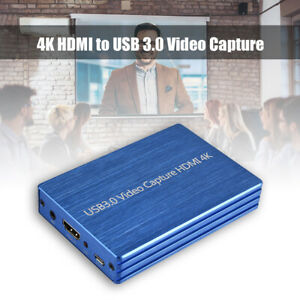 4K HDMI to USB 3.0 Video Capture Card Dongle 1080P  HD Video Recorder