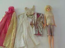 Vintage Mattel Inc., 1966 Barbie's friend blond Casey doll w/ clothing made in J