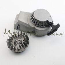 ALLOY PULL START STARTER&Flywheel for MINI DIRT ATV QUAD 49/50CC 2 STROKE