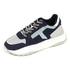 G0116 sneakers donna TOD'S FONDO SPORT. 45B suede blue/grey shoes women