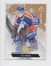 2013-14 SP Authentic Limited Auto #55 Andy Moog Edmonton Oilers Autograph
