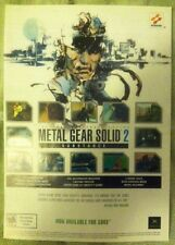Metal Gear Solid 3 Substance Poster Ad Print Playstation 2