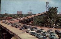 Windsor Ontario Kanada Canada Amerika 1960 Ambassador Bridge Verkehr Autos Cars