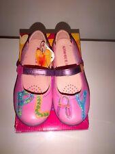 BNWT AGATHA RUIZ DE LA PRADA 131395-Kaiser Pink SHOES EUR 27/ 9 UK Infants
