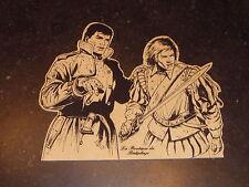 Coria - Bob Morane - Sérigraphie sur découpe bois - TL N°/S 150 ex - Bédéphage