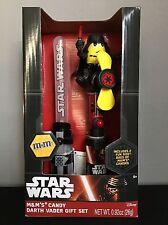 Star Wars M&M Candy Darth Vader Gift Set Light Saber Fan