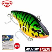 Wobble Slow Floating Hard Bait Crankbait Pencil VIB Fishing Lures 18.5g 7.4cm
