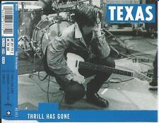 TEXAS - Thrill has gone CD SINGLE 3TR UK RELEASE 1989 (MERCURY)