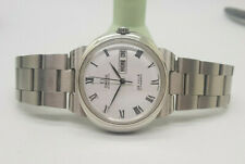 USED VINTAGE OMEGA DYNAMIC WHITE DIAL DAYDATE AUTOMATIC MAN'S WATCH