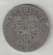 GREAT BRITAIN,  1897,  SHILLING,  SILVER,  KM#780