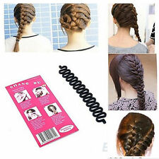 Fashion Hair Braiding Tool Roller Magic hair Twist Styling Bun Maker Hair Tools