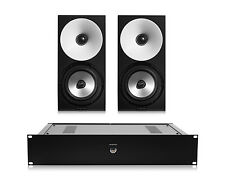 Amphion One12 Passive 2-Way Monitor Speakers (Pair) w/ Amp100 Stereo Amplifier