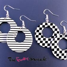Resin Silver Plated Drop/Dangle No Stone Costume Earrings