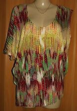 Animal Print City Chic Casual Tops & Blouses for Women