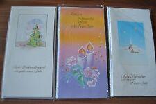 15 Stück verschiedene Weihnachtskarten Grußkarten Klappkarten (C2)