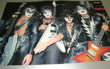 KISS poster from Europe Paul Stanley Gene Simmons Eric Singer Tommy Thayer 6 A02