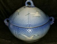 LARGE BING AND GRONDAHL SEAGULL PORCELAIN TUREEN #3
