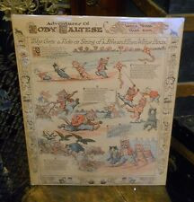 Callaghan & co, Adventures of Toby Maltese Cat 1913 In Pittsburgh gazette Times