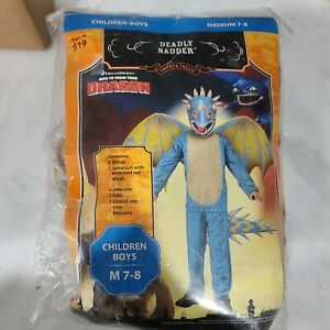 NEW How To Train Your Dragon Live Arena Spectacular DEADLY NADDER Costume. M7-8