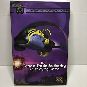 The terran trade authority role playing game handbook paperback first print 2006