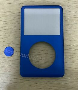 Blue Front Faceplate Housing Cover+center button for iPod classic 7th gen 160GB
