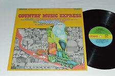 COUNTRY MUSIC EXPRESS LP Unart Records S-21016 GEORGE JONES JUDY LYNN AL CAIOLA