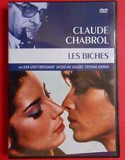 dvd film les biches claude chabrol jean-louis trintignant jacqueline sassard f v