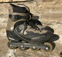 SALOMON Aggressive Freestyle UFS Skates FSK Black Mens 78mm US 13 Men's