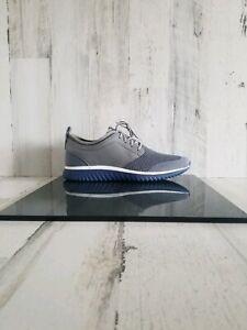 Cole Haan GrandMotion Blue Gray Optic Knit Shoes C26398 Men's Size 11.5