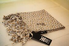 Fenchurch 100% Cotton White Floral print scarf - Brand New with tags £7.99