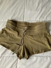No boundries brand gym Lounge Cut Off shorts olive green XS Extra Short Mini