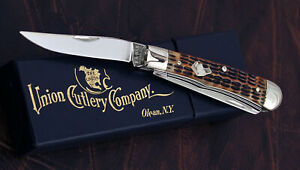 Canal Street Cutlery, made for KA-BAR Union Cutlery Co. Dogs Head Trapper. NICE!