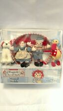 """Raggedy Ann Andy Musical Mobile Nursery Decor Classic Plays """"Brahms Lullaby"""""""