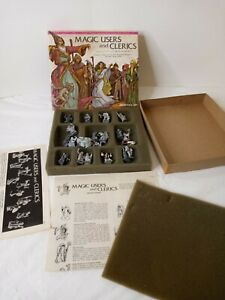 Magic Users And Clerics A Dungeon Dwellers Metal Figure Set Replacement Parts