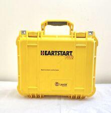 LAERDAL PHILIPS FR2 HEARTSTART DEFIB + NEW 2021 BATTERY, 07/2022 PADS + HARDCASE