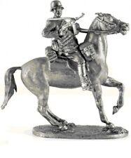 Plomo soldado de juguete, soldado alemán en el caballo, RARA, EXCLUSIVO Regalo, Juguete detallada