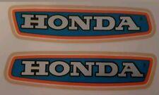 HONDA C90 C90Z C90ZZ FUEL TANK DECAL KIT (BLUE BIKE VERSION)