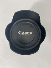 Stainless Steel Camera Lens Mug Canon Ultrasonic Travel Mug Pre-Owned VG