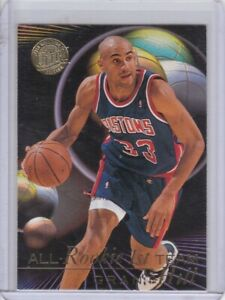 1995-96 Ultra All-Rookie Team Gold Medallion Grant Hill
