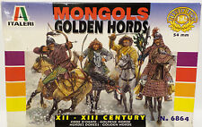 ARMY : MONGOLS GOLDEN HORDS 1/32 SCALE MODEL KIT SET MADE BY ITALERI (BY)