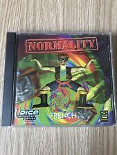 NORMALITY PC CD ROM FRANÇAIS RARE