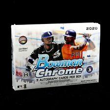 2020 BOWMAN CHROME BASEBALL HTA JUMBO BOX BRAND NEW FREE PRIORITY SHIPPING