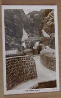 Postcard The Tanks Aden Middle East Real Photo unposted