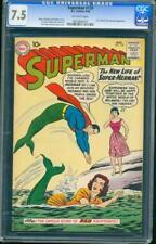 Superman 139 CGC 7.5 OW Silver Age Key DC Comic IGKC L@@K