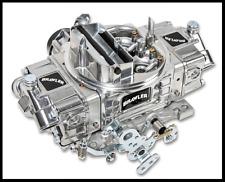 Quick Fuel Brawler Carburetor 600 CFM Mech Sec Elec Choke BR-67254 And FUEL LINE
