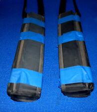 """VW Volkswagen Rabbit Cabriolet MK1  """"B"""" Pillar Roll Bar Rubber Seals Pair 79-93"""