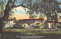 Rollins College Winter Park Fl W P 4 Cross Strong Halls Girls Dormitories