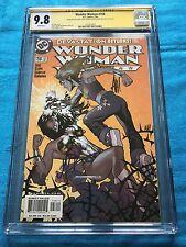 Wonder Woman #158 - DC - CGC SS 9.8 - Signed by Adam Hughes, Clark, McLeod