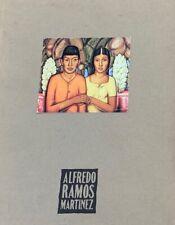 Alfredo Ramos Martinez (1872-1946)  Mexican Artist, RARE OP Book